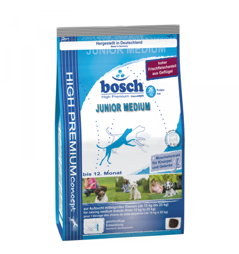 Bosch Junior Medium dla szczeniąt ras średnich