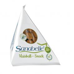 Sanabelle Hairball Snack przekąski ułatwiające wydalanie kul włosowych
