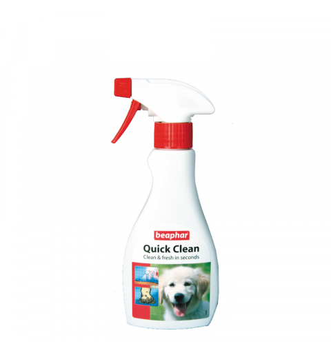 BEAPHAR Quick Clean sprej do czyszczenia i usuwania brudu z sierści psa