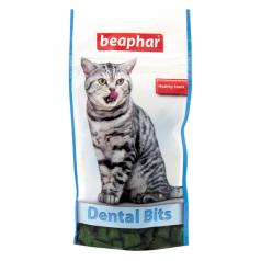 BEAPHAR DENTAL BITS przysmak z dodatkiem chlorofilu dla kotów