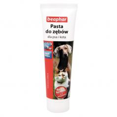 BEAPHAR Pasta do zębów dla psa i kota o smaku mięsa