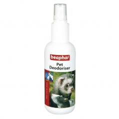 BEAPHAR PET DEODORISER spray maskujący nieprzyjemną woń ze skóry pasa, fretki, szczura