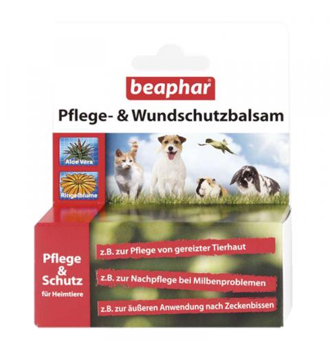 BEAPHAR PFLEGE & WUNDBALSAM balsam do pielęgnacji uszkodzonej skóry