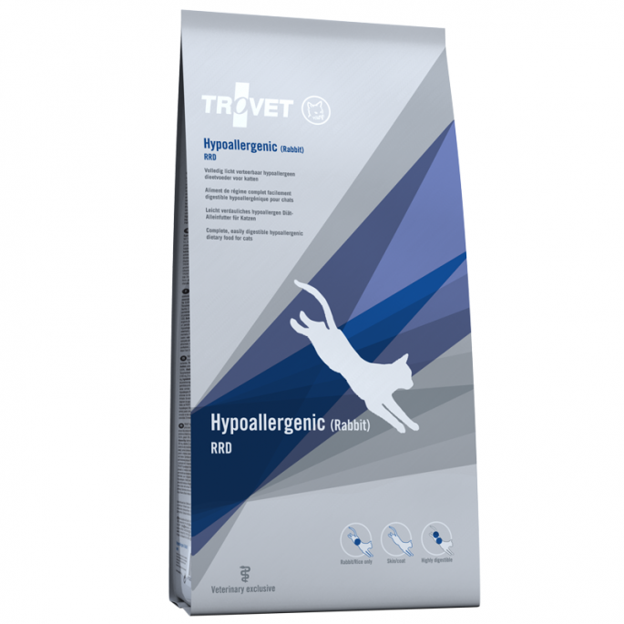 TROVET RRD Hypoallergenic (Rabbit) 3kg