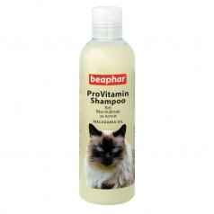 BEAPHAR Szampon dla kotów z olejkiem makadamia