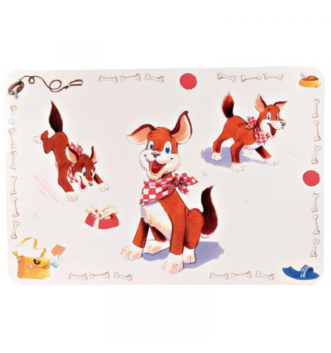 Trixie Podkładka pod miski Comic Dog