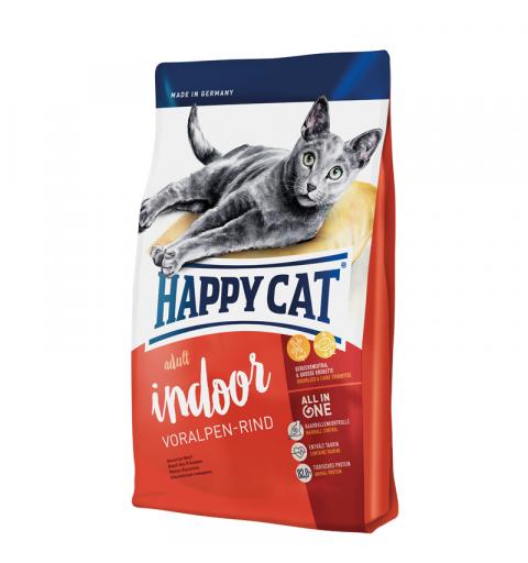 Sucha karma Happy Cat Fit & Well Adult Indoor Wołowina