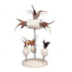 Trixie zestaw zabawek z piórami