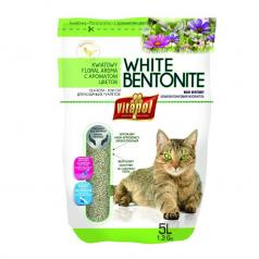 Vitapol bentonitowy biały piasek dla kota