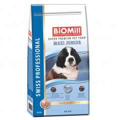 BiOMill Swiss Professional Maxi Junior Fish & Chicken