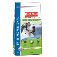 BiOMill Swiss Professional Maxi Sensitive Lamb