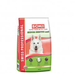 BiOMill Swiss Professional Medium Sensitive (Lamb & Rice)