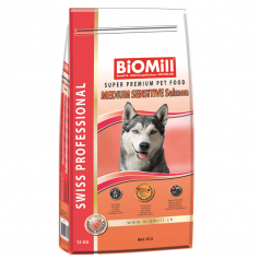 BiOMill Swiss Professional Medium Sensitive (Salmon & Rice)