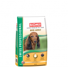 BiOMill Swiss Professional Mini Adult Chicken