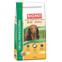 BiOMill Swiss Professional Mini Adult (Chicken & Rice)