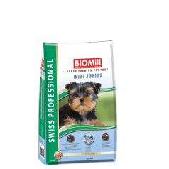 BiOMill Swiss Professional Mini Junior Fish & Chicken