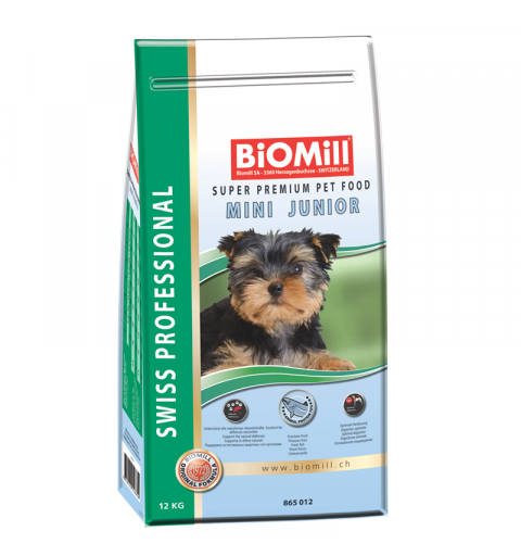 BiOMill Swiss Professional Mini Junior (Chicken & Rice)