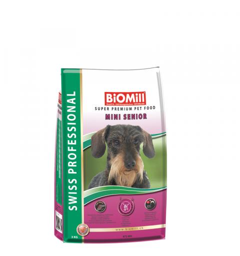 BiOMill Swiss Professional Mini Senior (Chicken & Rice)