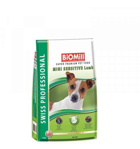 BiOMill Swiss Professional Mini Sensitive (Lamb & Rice)