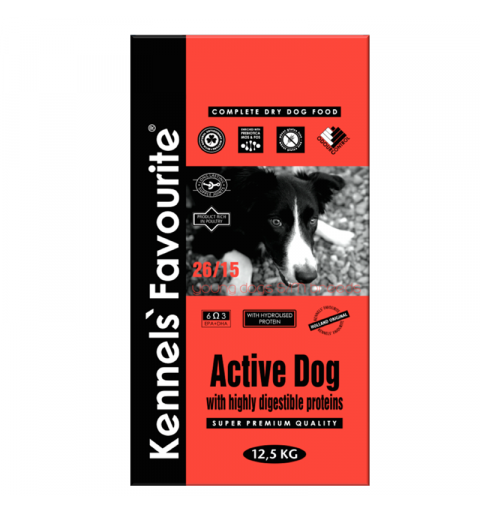 Kennels' Favourite Active Dog