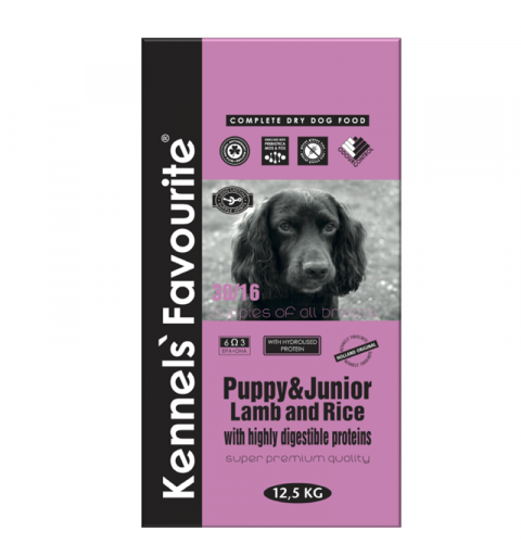 Kennels' Favourite Puppy Lamb & Rice