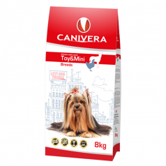 Canivera Adult Chicken & Lamb Toy & Mini Breeds