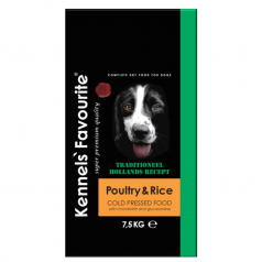 Kennels' Favourite Poultry & Rice Cold Pressed