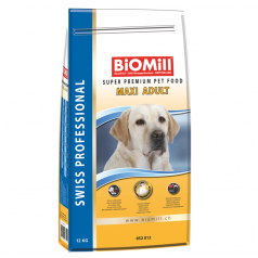 BiOMill Swiss Professional Maxi Adult (Chicken & Rice)