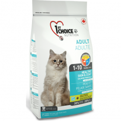 1st Choice Indoor Sensitive Skin & Coat Salmon Formula