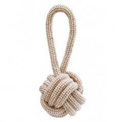 Lolo Pets naturalny sznur jutowy węzeł