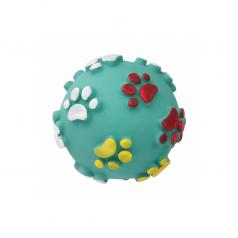 Lolo Pets piłka winylowa w łapki zielona 7,5cm