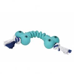 Lolo Pets gumowa kość ze sznurkiem