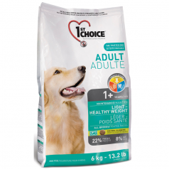 1st Choice Adult Dog Light