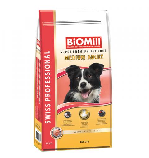 BiOMill Swiss Professional Medium Adult (Chicken & Rice)