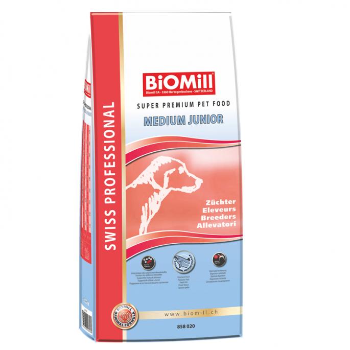 BiOMill Swiss Professional Medium Junior (Chicken & Rice)