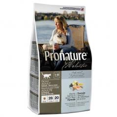 Pronature Holistic dla kotów dorosłych Atlantycki Łosoś & Brązowy Ryż