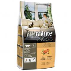 Pronature Holistic dla kotów dorosłych Kaczka w Pomarańczach