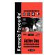 Kennels' Favourite Active Dog 20kg + Yam-Yam TUTTY–FRUTTY
