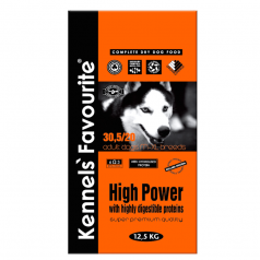 Kennels' Favourite High Power 12,5kg + Yam-Yam PARTY MIX