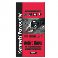 Kennels' Favourite Active Rings 12,5kg + Yam-Yam PARTY MIX