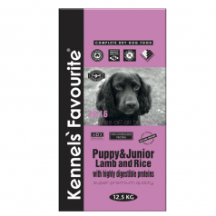 Kennels' Favourite Puppy Lamb & Rice 20kg + Yam-Yam TUTTY–FRUTTY