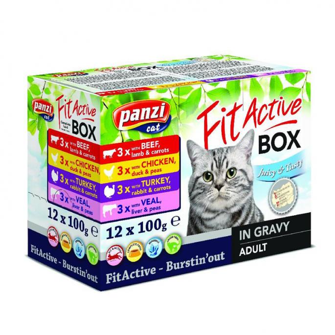Fit Active Cat Box 12