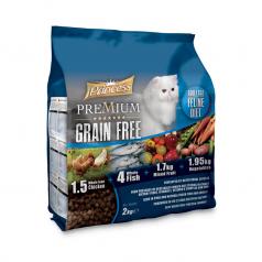 """Princess Super Premium """"Bez zbóż"""" dla dorosłych kotów"""