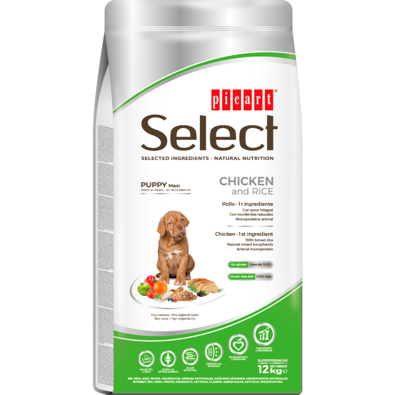 Picart Select Puppy MAXI Chicken And Rice
