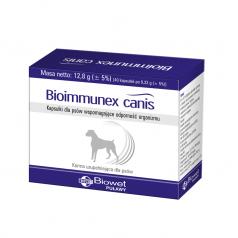 Kapsułki na odporność Biowet Bioimmunex canis dla psów