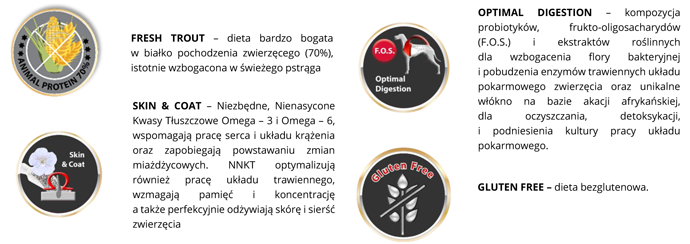 Suplementy BiOMill Swiss Professional Grain Free Trout